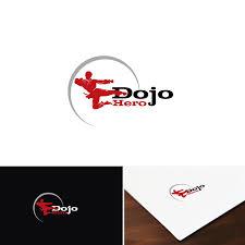 Design Dojo Media Com Modern Professional Martial Art Logo Design For Dojo Hero