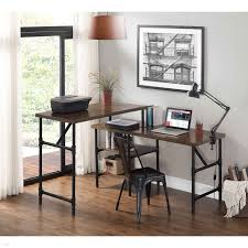 glass top office desk. Glass Top Office Desk Contemporary Double Fice Luxury Industrial Birch Veneer Sit Stand A