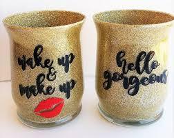 makeup brush holder cup. makeup organization-makeup brush holders-makeup brushes- cup-makeup organizer- holder cup