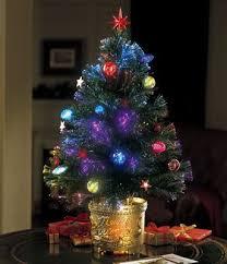 Fiber Optic Trees at WalMart | Revolving Fiber Optic Christmas Tree from  Collections Etc