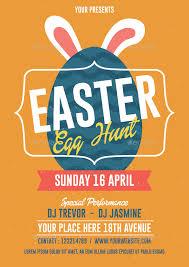 Easter Egg Hunt Flyer By Bonezboyz9 Graphicriver