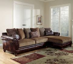 Traditional Fabric Sectional by Ashley Furniture Chicago