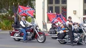 confederate flag at whidbey fair draws