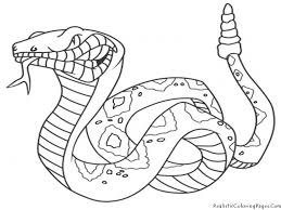 Great Snake Coloring Page 75 For Your Download Coloring Pages with ...