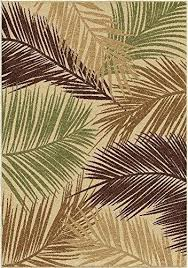 palm tree rugs indoor outdoor leaves bungalow palms multi area rug design