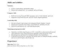 High School Resume Sample No Experience Resume Examples For High ...