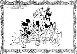 House Mouse Coloring Pages Coloring For Adults Mickey Mouse