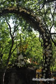 twig garden wedding arch