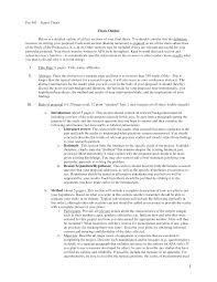Apa Proposal Sample Barca Fontanacountryinn Com
