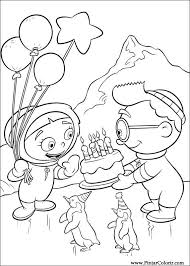 Small Picture quincy the little einsteins coloring page little einsteins color