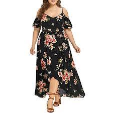 Womens Plus Size Dresses L-5XL, Casual Short ... - Amazon.com