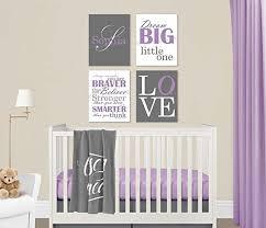 baby girl nursery purple grey canvas wall art love dream big name christopher robin quote on little girl canvas wall art with amazon baby girl nursery purple grey canvas wall art love dream