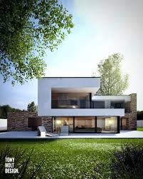 Floor Plan Contemporary Houses Architecture Modern House Plans