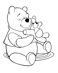 Teddy Bear And Heart Printable Coloring Pages Printable Coloring