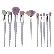 unicorn brush set. unicorn brush set - 10 piece o