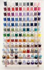 Coats And Clark Sewing Thread Color Chart Organizing Your Thread By Color Yarnspirations