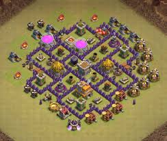 Base 7 7 Best Th7 War Base 2020 With Base Copy Link Bestcocbases