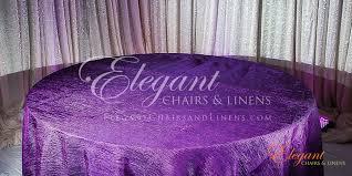 crinkle purple linen closeup crinkle purple floor length linens