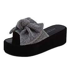 Bukinie Women Platform Sandals Ladies Comfort Flip Flops