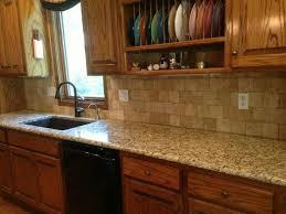 backsplash for santa cecilia granite countertop. Backsplash For Santa Cecilia Granite Countertop Concept . A