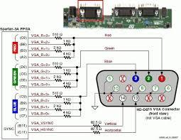 vga cable schematic wiring diagram basic vga cable ering diagram wiring diagram basic