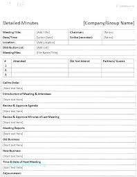Simple Minutes Of Meeting Sample Minute Of Meeting Template Doc Atlasapp Co