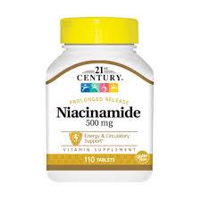 Витамины и минералы 21st Century Niacinamide 500 ... - ROZETKA