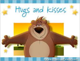 Image result for hugs kisses