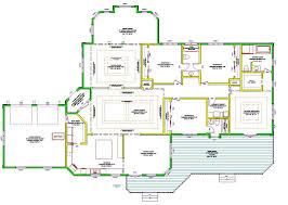 ranch style one story house plan admirable at modern floor plans home exterior with porches