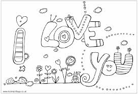 Small Picture Word Love Coloring Coloring Pages For Kids To Print 11971