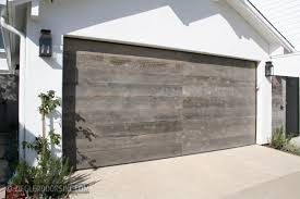 Reclaimed Wood Modern Garage Doors by Ziegler Doors Inc