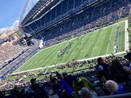 Centurylink Field Section 330 Home Of Seattle Seahawks