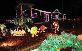 Fayette County Christmas Lights Slideshow Lacys Lights News Register Herald Com