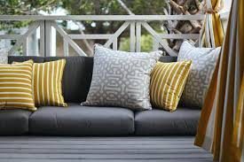 yellow outdoor cushions ercup pillow chair yellow outdoor cushions water