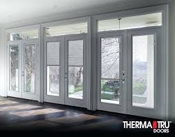 exterior doors with built in blinds smooth star fiberglass doors with internal blinds sliding patio doors