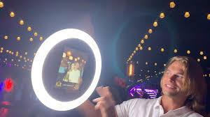 Ring Light Rental Roaming Selfie Light Ring Photo Booth Rental Selfie