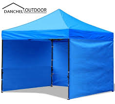 Folding Tent Danchel Waterproof Pop Up Garden Tent With Three Wall Gazebo Tent