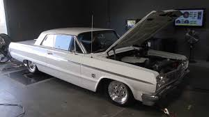 LS1-Swapped 1964 Chevy Impala on the Dyno - YouTube
