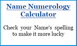 Numerology Chart Name Calculator All About Numbers There Is Something Mystical About Them