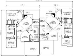 this charming cottage duplex plan has two unique units unit a is 3 Storey House Plans this charming cottage duplex plan has two unique units unit a is 1 1 2 stories and features an owners' suite and great room style living on the ma 3 story house plans with basement