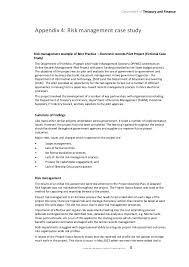 project risk management guideline victorian department of treasury 25 project risk management