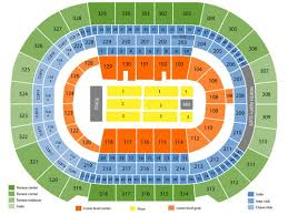 Amalie Seating Chart With Rows