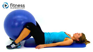 Total Body Exercise Ball Workout Video Express 10 Minute