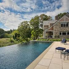 infinity pool backyard. Contemporary Pool Inspiration For A Huge Transitional Backyard Rectangular And Concrete Paver Infinity  Pool House Remodel In New Intended Infinity Pool Backyard