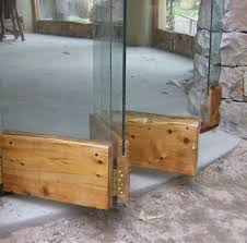 wooden frameless stacking doors cape town