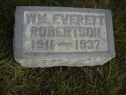 William Everett Robertson (1911-1937) - Find A Grave Memorial