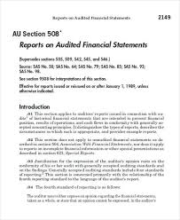 Template Audit Report 8 Sample Audit Reports Free Sample Example Format Download