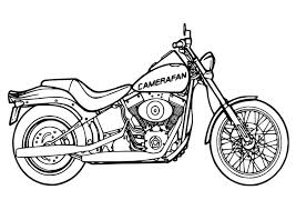 Harley Davidson Da Colorare Amazing Coloring Pages Motorcycle