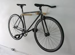 Amazon.com: Bike hanger, Wooden Bike Hanger Wall Bike Rack Minimalist Sleek  Design Handcrafted, LEVITA: Home & Kitchen