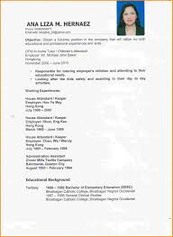 Sample Resume Nanny Housekeeper Resume For Study